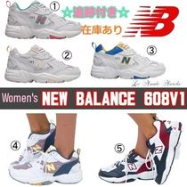 New Balance 608 Casual Style Street Style Plain Logo Low-Top Sneakers