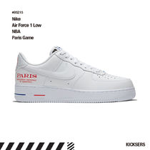 Nike AIR FORCE 1 Unisex Street Style Collaboration Logo Sneakers