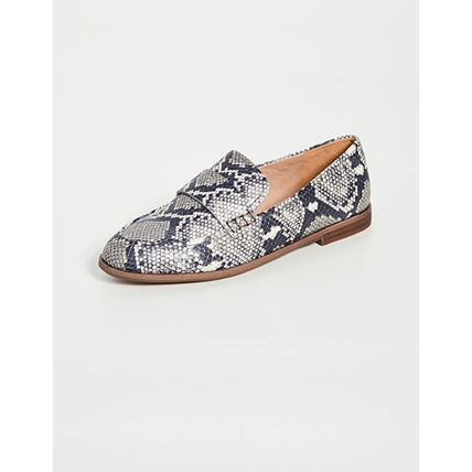 Casual Style Leather Python Loafer & Moccasin Shoes