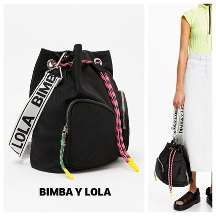 Casual Style Purses Bucket Bags