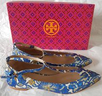 Tory Burch Flower Patterns Paisley Tropical Patterns Casual Style