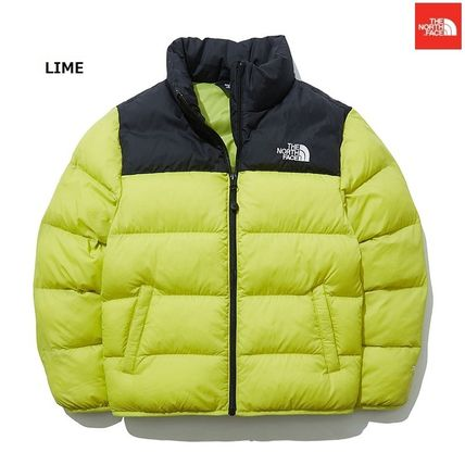 THE NORTH FACE Nuptse Unisex Street Style Bold Kids Girl Outerwear