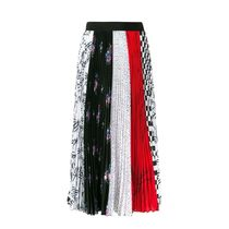 MSGM Pleated Skirts Long Maxi Skirts