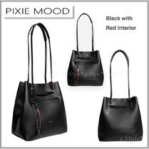 PIXIE MOOD Casual Style A4 Plain Party Style Office Style Elegant Style