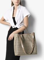 Azzedine Alaia Casual Style Street Style Plain Office Style Formal Style