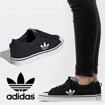 adidas Unisex Blended Fabrics Street Style Low-Top Sneakers