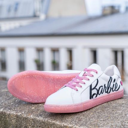 Rubber Sole Casual Style Blended Fabrics Street Style