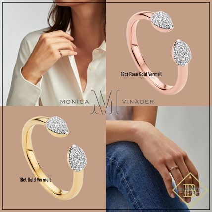Monica Vinader Rings Costume Jewelry Casual Style Party Style Office Style