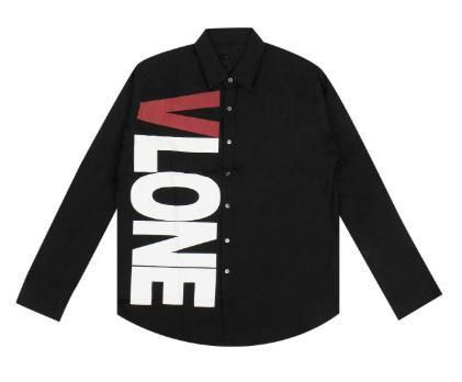 Street Style Long Sleeves Plain Logo Shirts