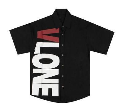 Street Style Plain Short Sleeves Logo Shirts
