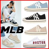 MLB Korea Casual Style Street Style Logo Low-Top Sneakers