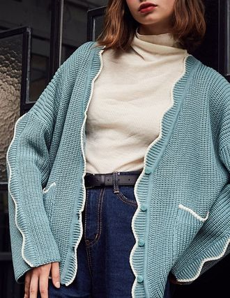 Casual Style Cardigans
