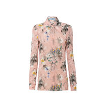 PRADA Long Sleeves Medium Front Button Shirts & Blouses