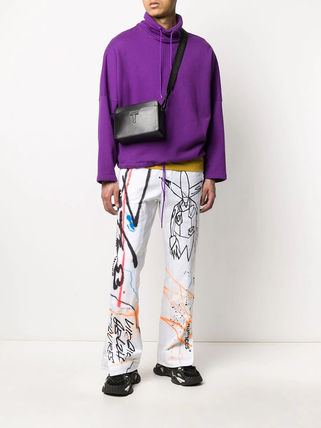 Off-White More Jeans Printed Pants Denim Street Style Jeans 3