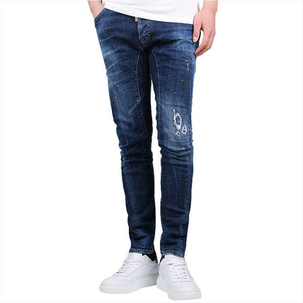 D SQUARED2 More Jeans Street Style Cotton Jeans 2