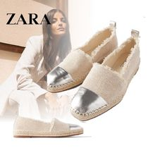ZARA Casual Style Blended Fabrics Low-Top Sneakers