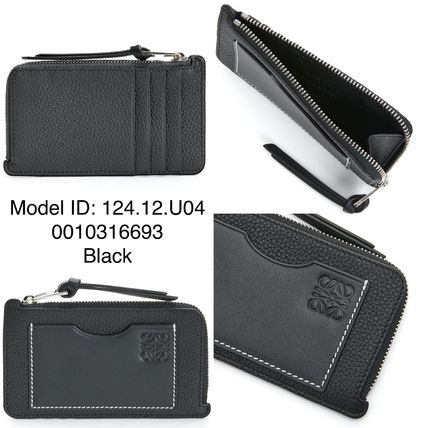 Unisex Plain Leather Long Wallet  Small Wallet Card Holders