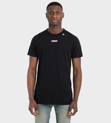 Off-White More T-Shirts Street Style Cotton Short Sleeves Oversized 6