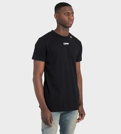 Off-White More T-Shirts Street Style Cotton Short Sleeves Oversized 7