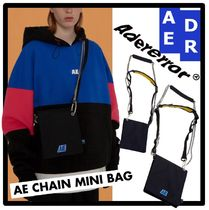 ADERERROR Casual Style Unisex Street Style Shoulder Bags