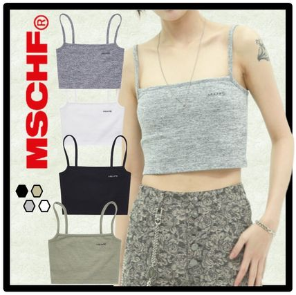Casual Style Street Style Tanks & Camisoles