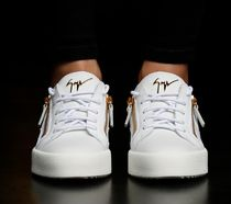 GIUSEPPE ZANOTTI Casual Style Street Style Low-Top Sneakers