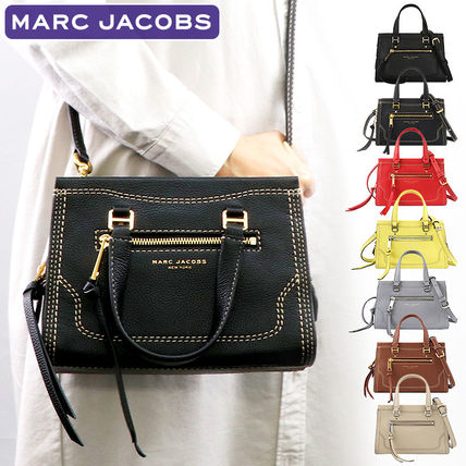 MARC JACOBS 2WAY Plain Leather Crossbody Handbags