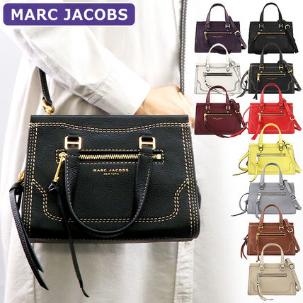 Crossbody 2WAY Plain Leather Handbags