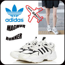 adidas MAGMUR Casual Style Unisex Street Style Logo Low-Top Sneakers