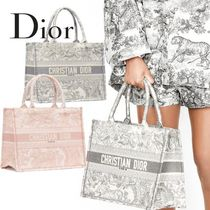 Christian Dior Casual Style Elegant Style Totes