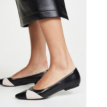 MARC JACOBS Plain Leather Pointed Toe Shoes