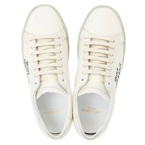 Saint Laurent Collaboration Plain Low-Top Sneakers