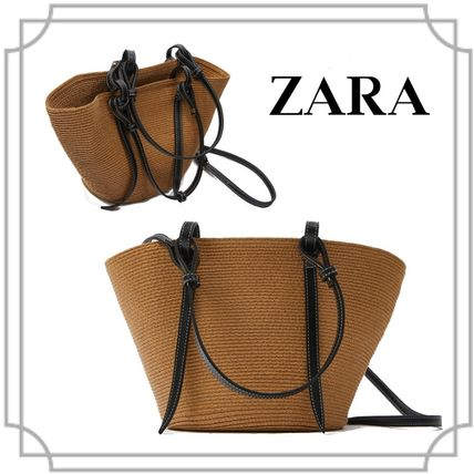 Blended Fabrics 2WAY Straw Bags