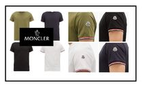 MONCLER Crew Neck Unisex Street Style Plain Short Sleeves