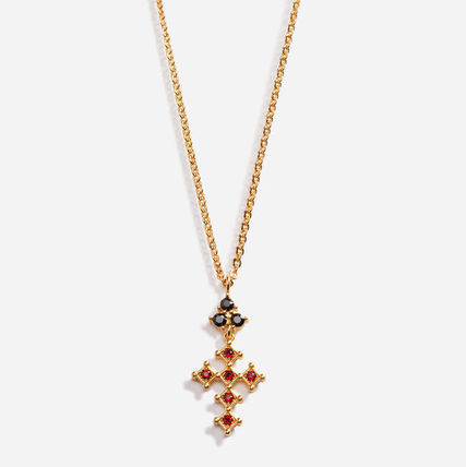 Dolce & Gabbana Unisex Street Style Chain With Jewels Necklaces & Chokers