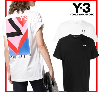 Y-3 More T-Shirts Unisex Street Style Cotton Designers T-Shirts