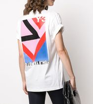 Y-3 Unisex Street Style Cotton Designers T-Shirts