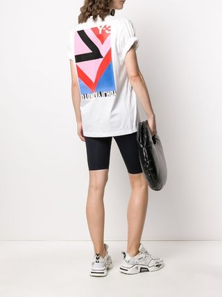 Y-3 More T-Shirts Unisex Street Style Cotton Designers T-Shirts 5