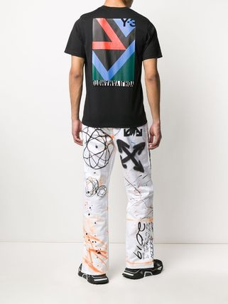 Y-3 More T-Shirts Unisex Street Style Cotton Designers T-Shirts 14