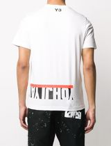 Y-3 Unisex Street Style Cotton Short Sleeves Designers T-Shirts