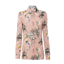 PRADA Flower Patterns Tropical Patterns Long Sleeves