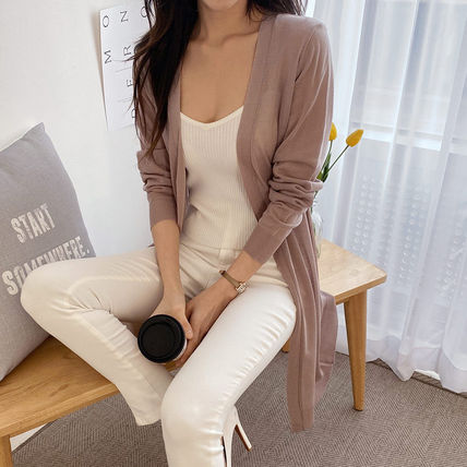 Long Icy Color Sheer Cardigans