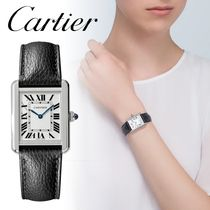 Cartier TANK Office Style Elegant Style Formal Style  Bridal