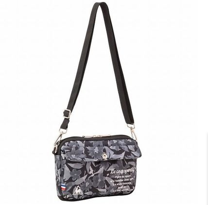 Flower Patterns Casual Style Street Style Crossbody