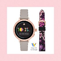 kate spade new york Leather Digital Watches