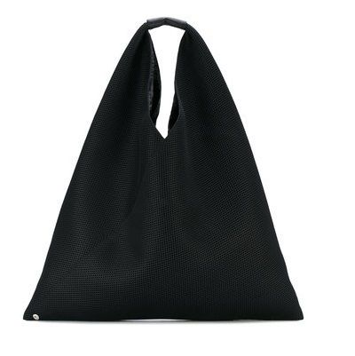 MM6 Maison Margiela Mesh Japanese Triangle Tote Bag