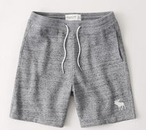 Abercrombie & Fitch Logo Joggers Shorts
