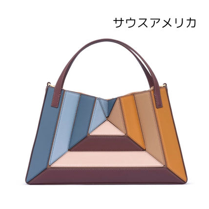 Casual Style Suede 2WAY Leather Elegant Style Crossbody