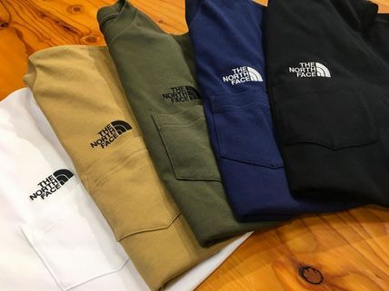 THE NORTH FACE Long Sleeve Street Style Long Sleeves Long Sleeve T-shirt Logo Outdoor 17