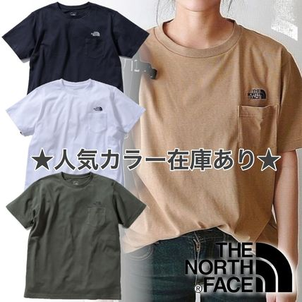 THE NORTH FACE Street Style Long Sleeve T-shirt Logo Outdoor